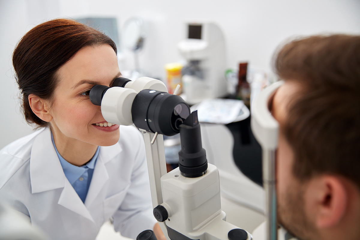 doctor test glaucoma